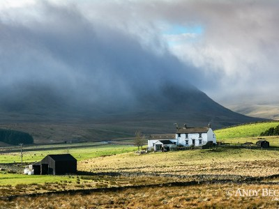 Clouds over Cronkley Fell