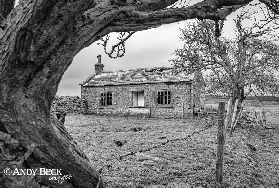 abandoned cottage Teesdale