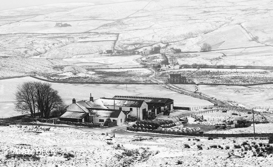 Winter at Harwood, Upper Teesdale