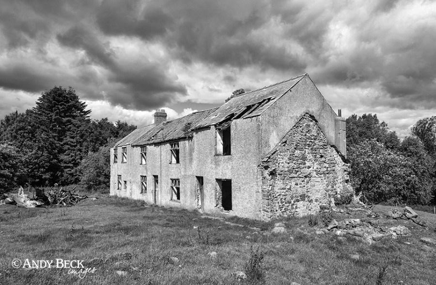 abandoned farm, Cleatlam
