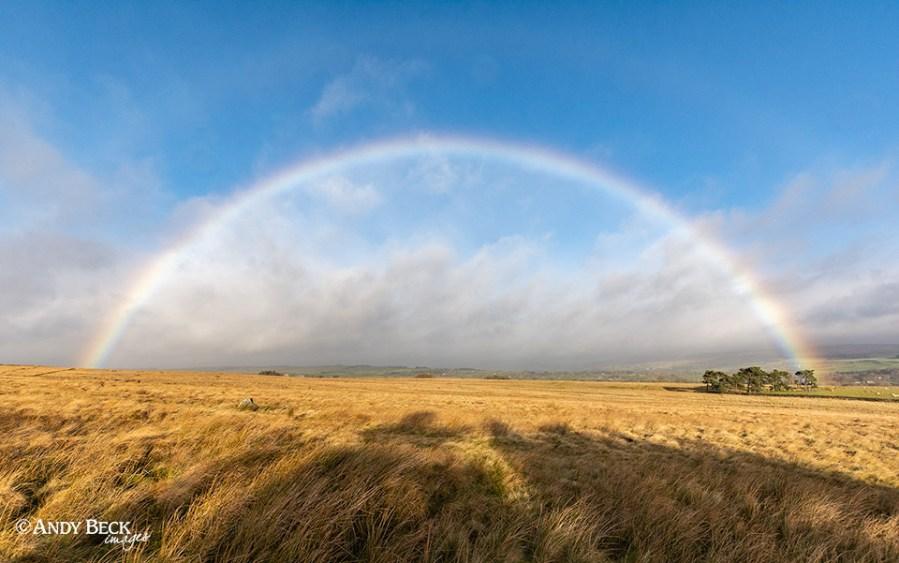 Cotherstone Moor rainbow