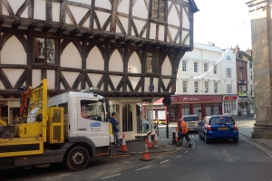 Road and pavement works planned for Ludlow in 2015