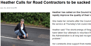 Calls for Ringway to be sacked by Shropshire Council as road repairs fail
