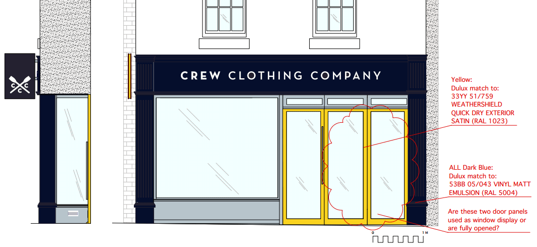 Crew Clothing in Ludlow wants a horrid makeover – it will damage the character of King Street
