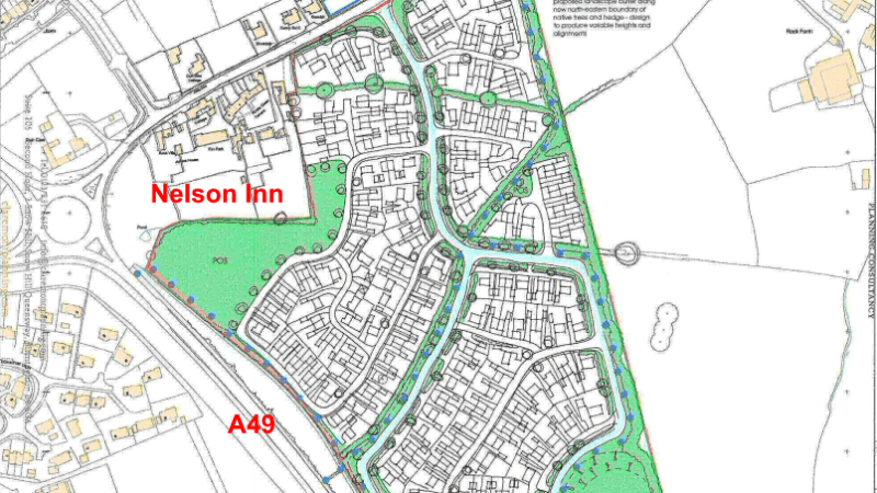 We should merge Ludford & Ludlow councils if plans for housing south of Rocks Green are to succeed