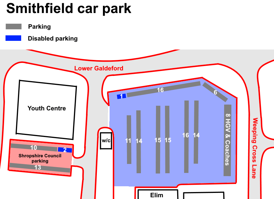 Parking consultation – keeping Castle Street short-term and extending Smithfield car park