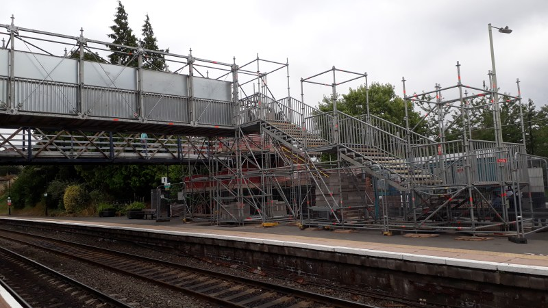 No lifts in Ludlow station upgrade. No fully accessible taxi in town. We should stop treating the disabled as second class