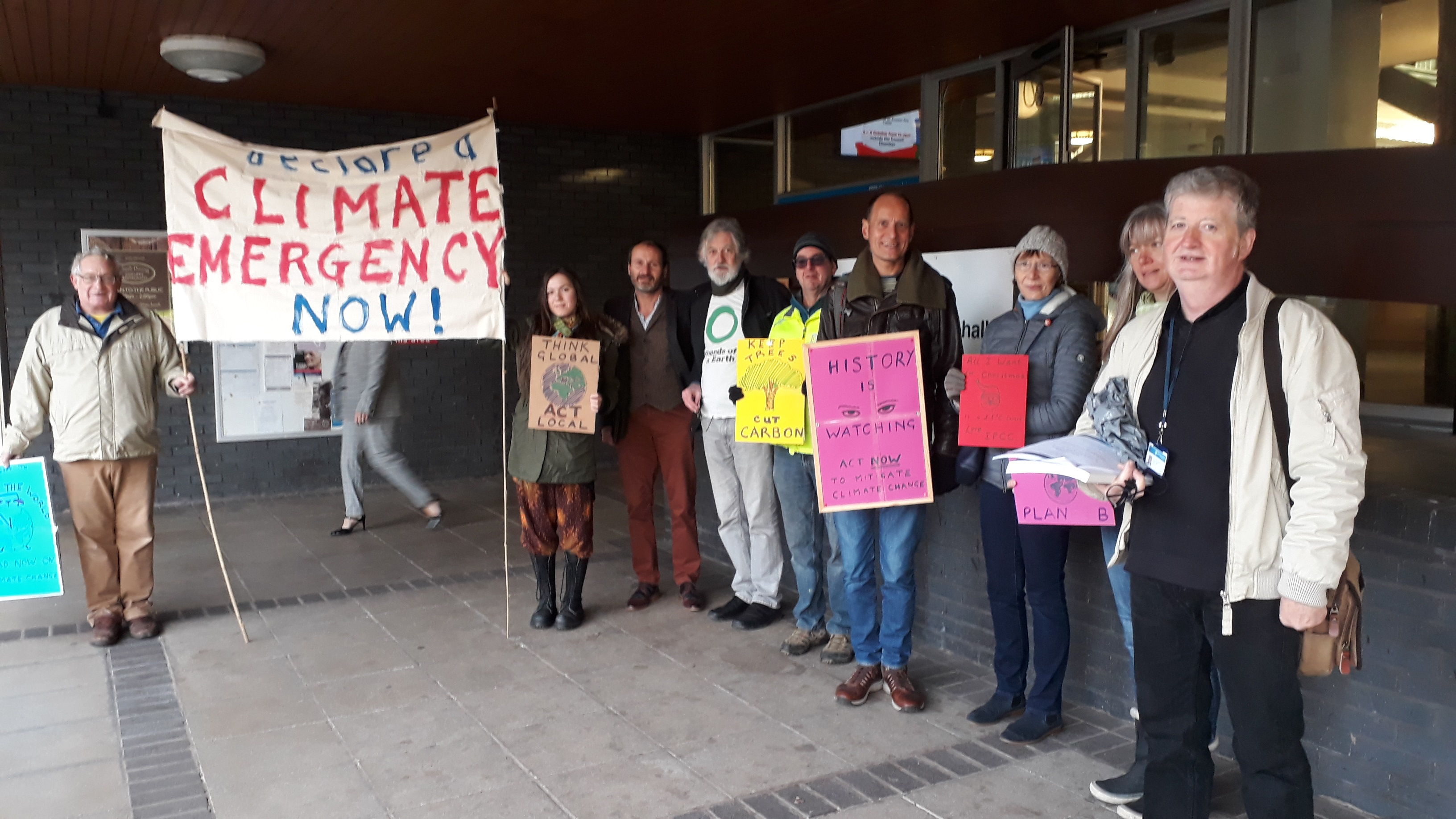 Climate change meetings in February – it's time we put the emergency into declarations of climate emergency