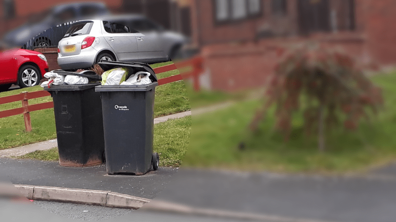 Shropshire Council's recycling isn't that green but it has backed down on charges for green waste collection