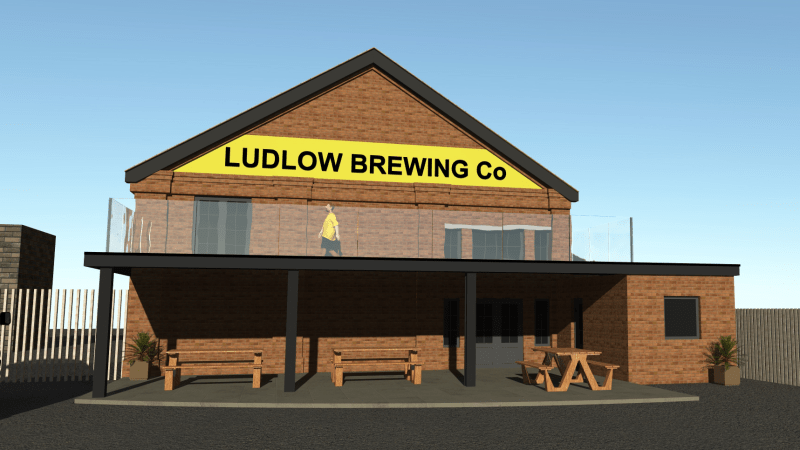 New image released of proposed Ludlow Brewery balcony as conservation officers say they have no objection