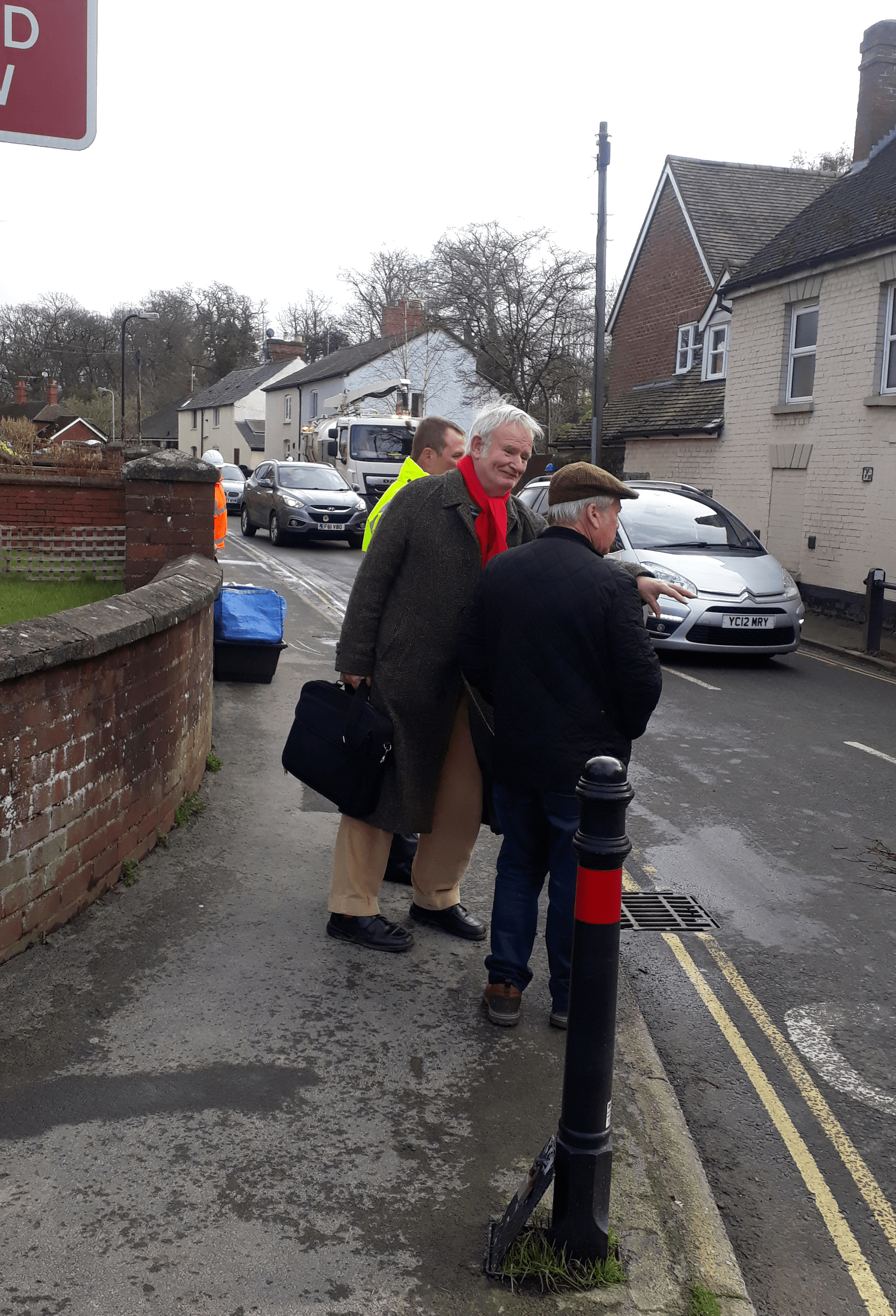 Storm Dennis – the clean up continues – skips are being provided in Ludlow