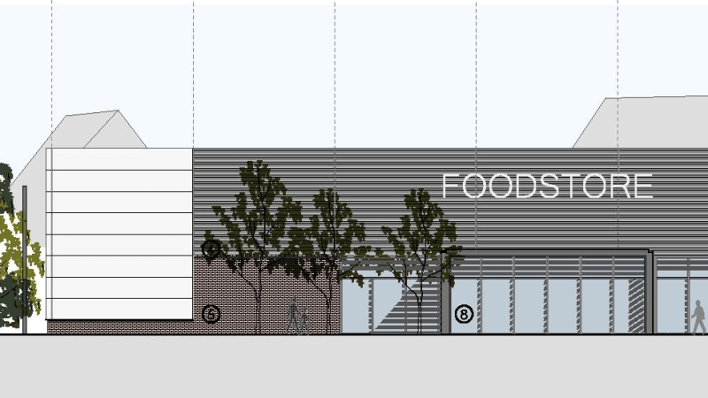 Final plans submitted for supermarket and petrol station off the A49 at Rocks Green, Ludlow