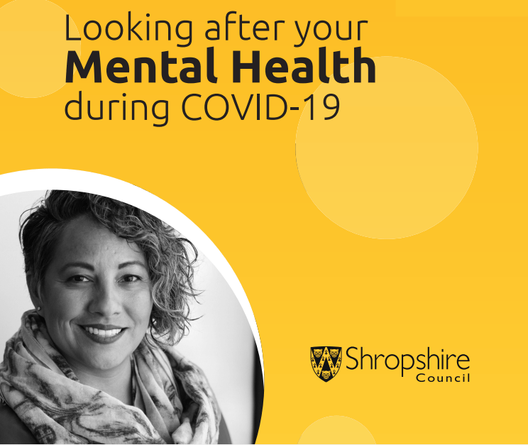 Shropshire Council's new guide on wellbeing & mental health for adults, teenagers & children during the #coronavirus emergency