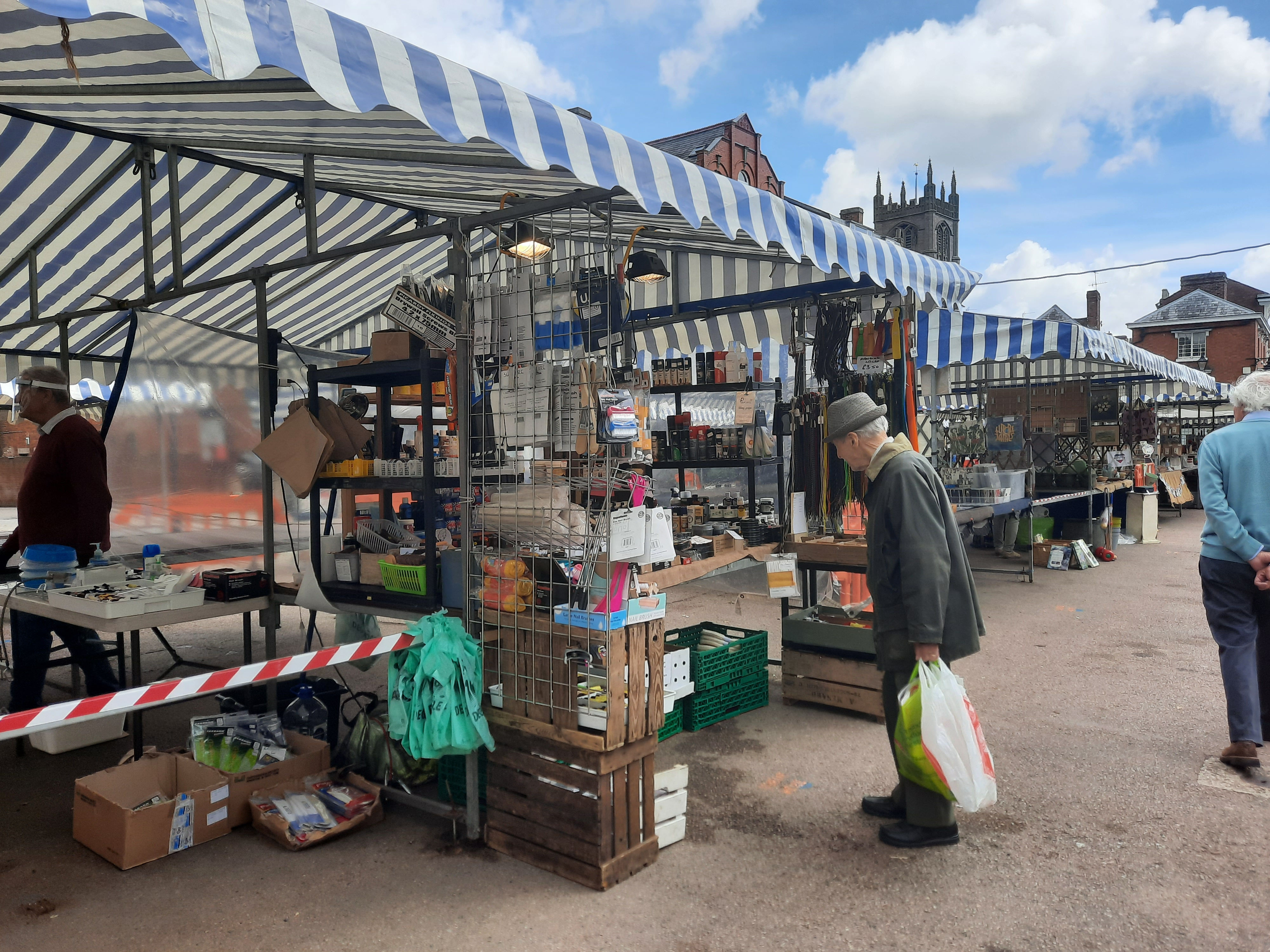 Ludlow Town Council set to increase the number of market stalls and pitches from 20 to 30 #recovery