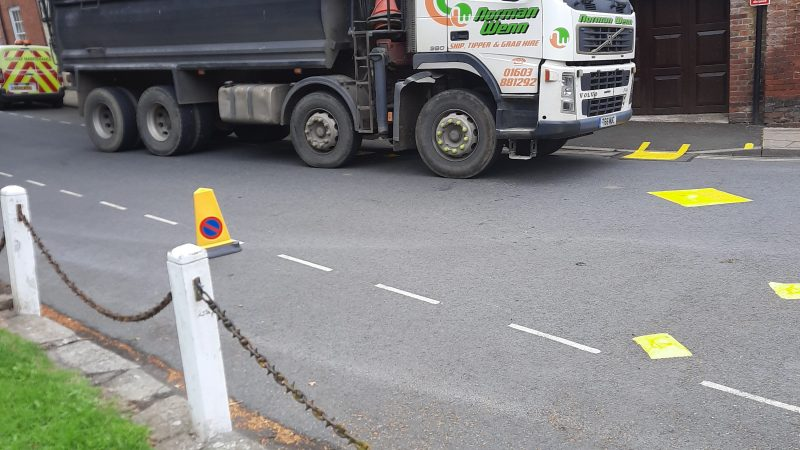 It's a farce – Shropshire Council's Norwich crew closes Ludlow roads for unnecessary work on 'Super Saturday'
