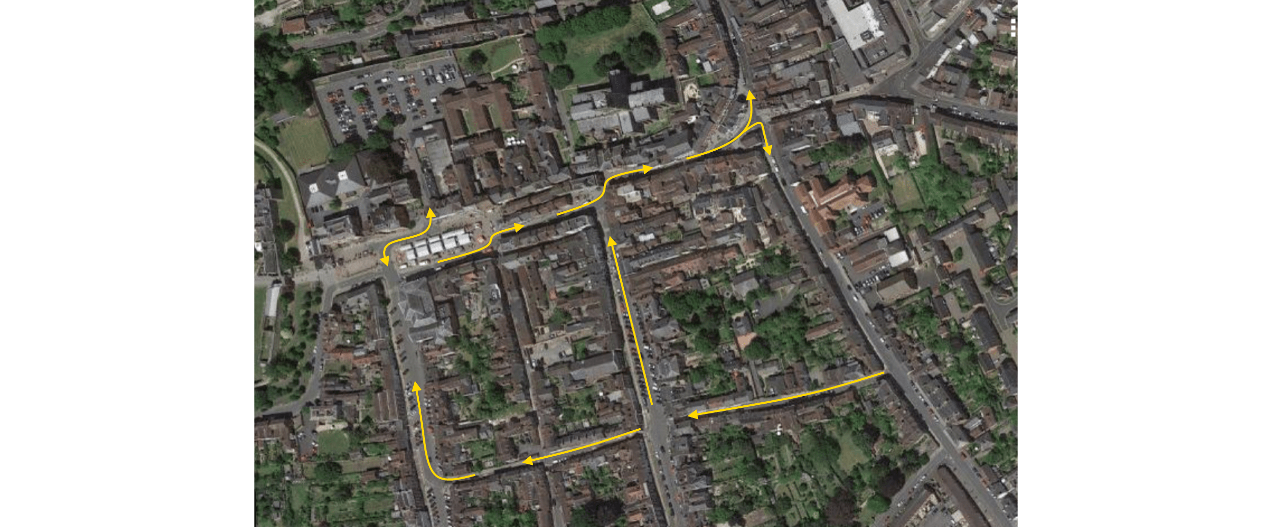 Should we reverse traffic flow in Ludlow town centre? To me it makes a lot of sense but it is a big project