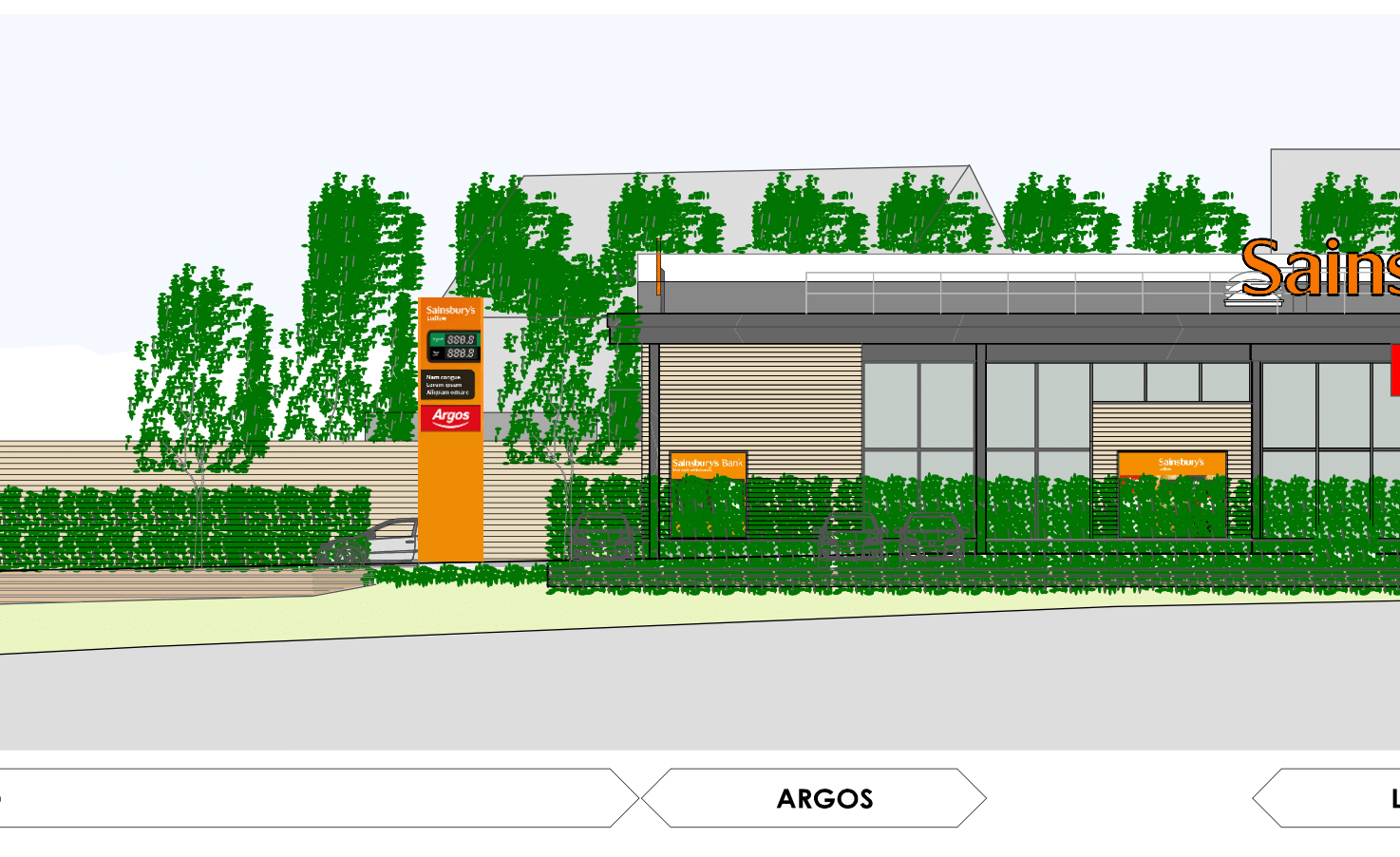 Planners to ask councillors to approve Rocks Green Sainsbury's supermarket and petrol station next week