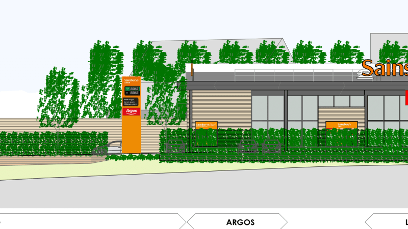 Planning committee unanimously approves Sainsbury's supermarket at Ludlow, Rocks Green