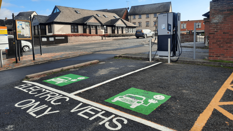 Boris Johnson accelerates drive to electric vehicles as Ludlow Town Council consults on street charging points