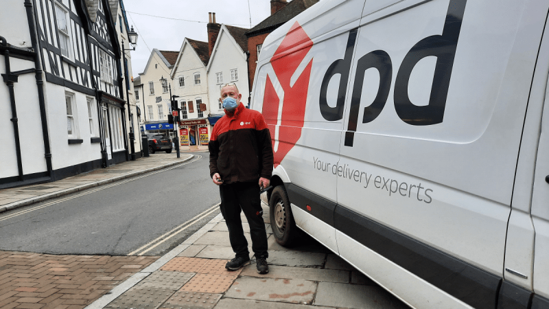 Ludlow to lose Paul our favourite courier in New Year when DPD shuffles rounds – please protest to the company