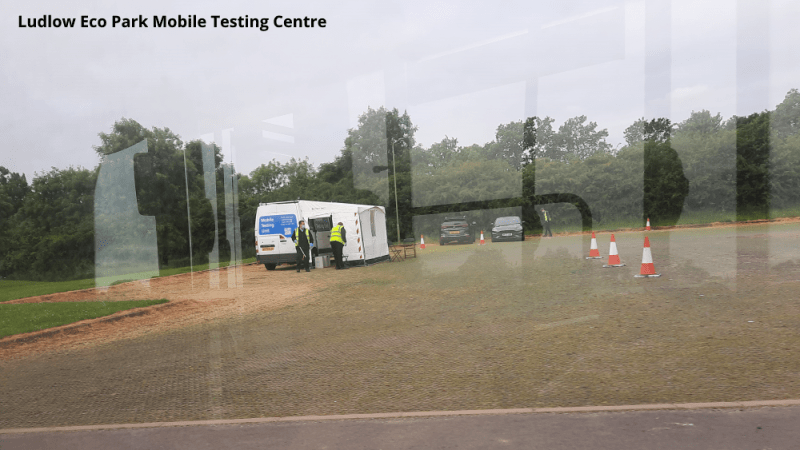 Covid Watch 147: Ludlow testing centre move and continued King Street closure