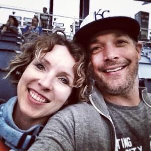 Kia and Andy at Sporting Park in Kansas City Kansas