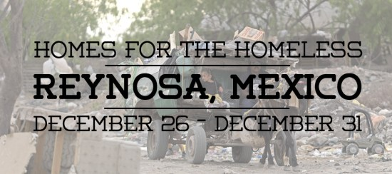 Homes for the Homeless with Strategic Alliance in Mexico