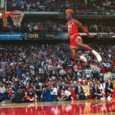 I want to be great like Michael Jordan