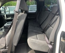 Drivers Side Rear Seat View