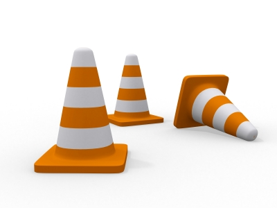 Construction Cones - David Castillo Domenici