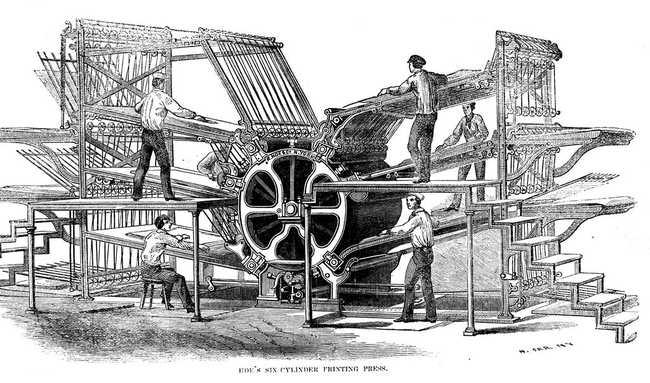 6 Cylinder Press