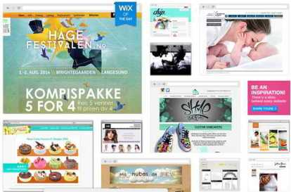 Wix pages