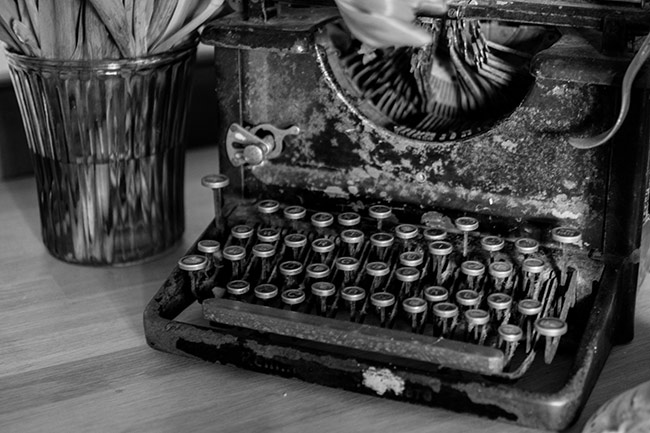 Antique Typewriter - Word Processing without a Word Processor