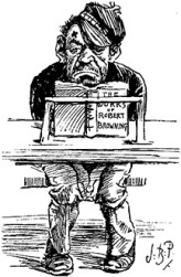 A Poor Reader - Punch