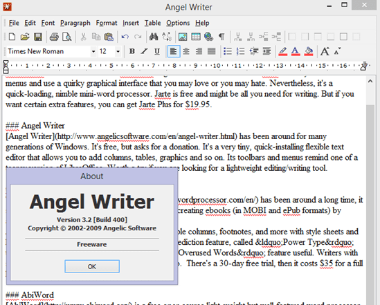 Write 2 4 – Simple Lightweight Word Processor