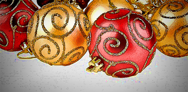 Image of Holiday Tree Decorations