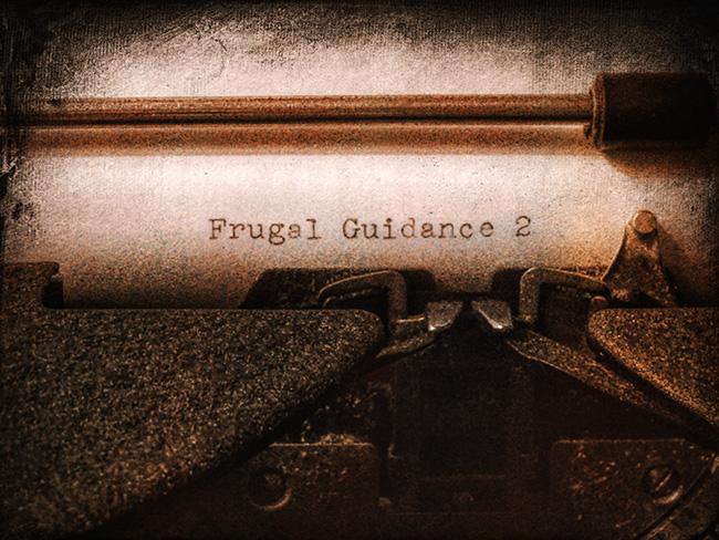 Typewriter for Frugal Guidance 2
