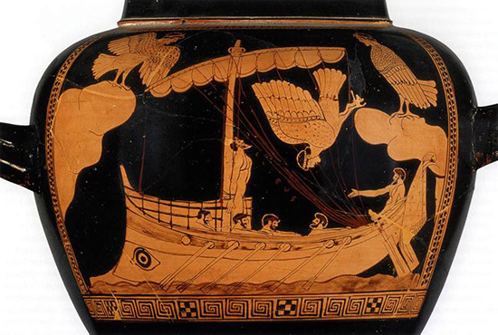 Vase image from The Odyssey