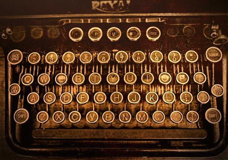 Royal Typewriter Keyboard