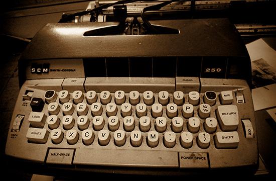 Electric Smith-Coirona typewriter