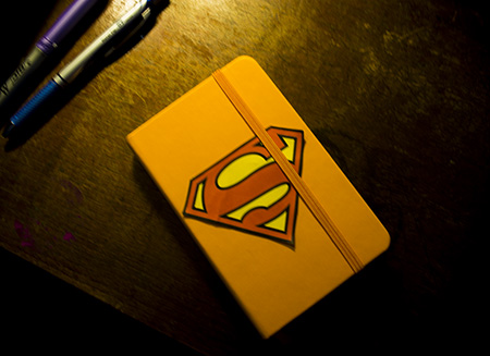 Super Hero Notebook - Bullet Journal