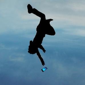 parachute falling