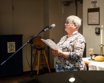 Calgary Presbytery Chair Susan Brodrick