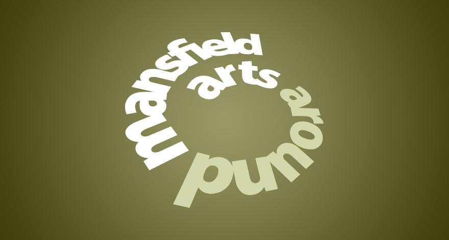 Arts Around Mansfield Logo Design