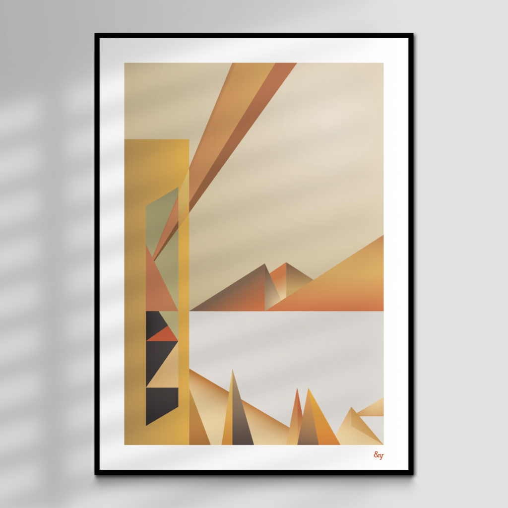 Vision - high quality giclée print for sale