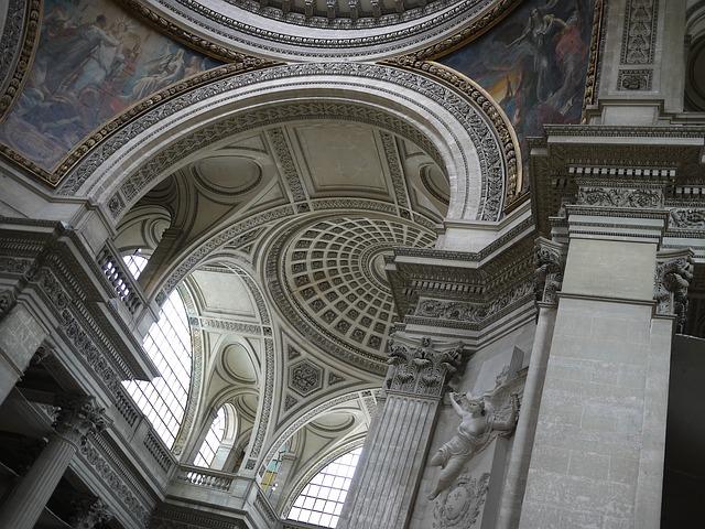 Geometry Pantheon Paris Interior