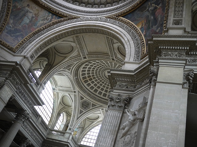 Geometry Pantheon Paris Interior