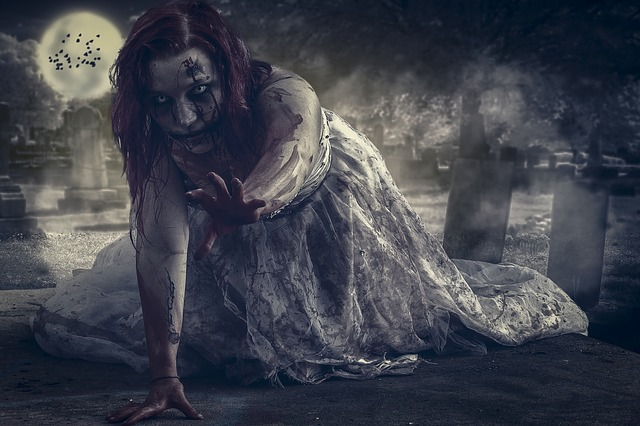 Manipulation Witch Zombie Cemetary