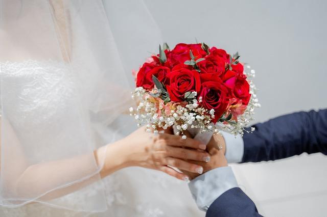 Wedding Bride Flower Love Romantic
