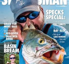Greg Hackney Louisiana Sportsman cover